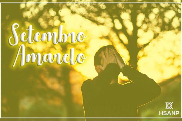 Setembro Amarelo: mês de conscientização para a prevenção do suicídio
