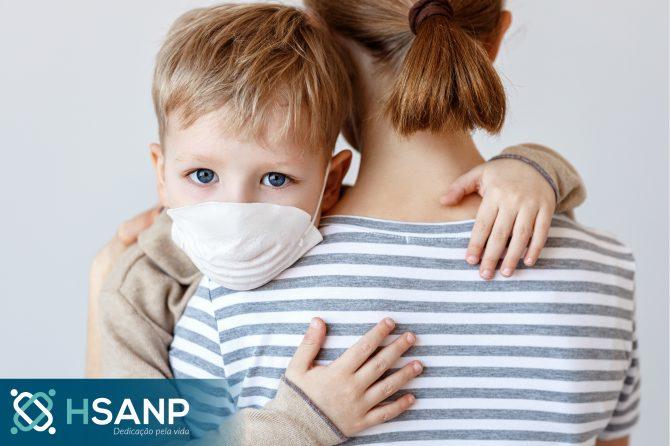 Atenção e cuidados com as crianças durante a quarentena